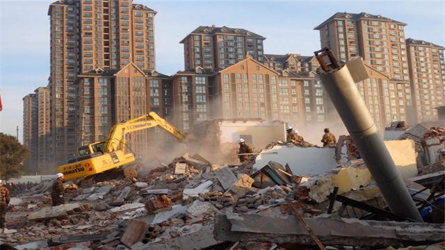城市楼房拆迁